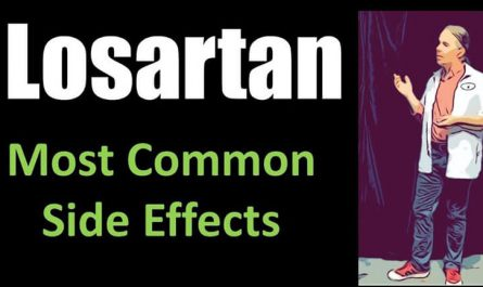 what are the most common side effects of losartan