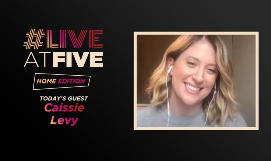 Broadway.com #LiveatFive: Home Edition with Caissie Levy