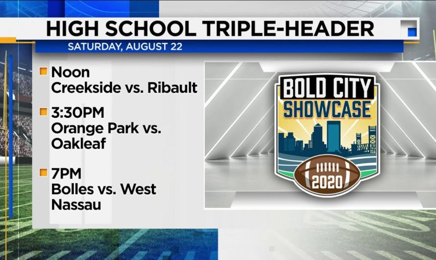 Bold City Showcase returns to WJXT with 3 football games on Aug. 22