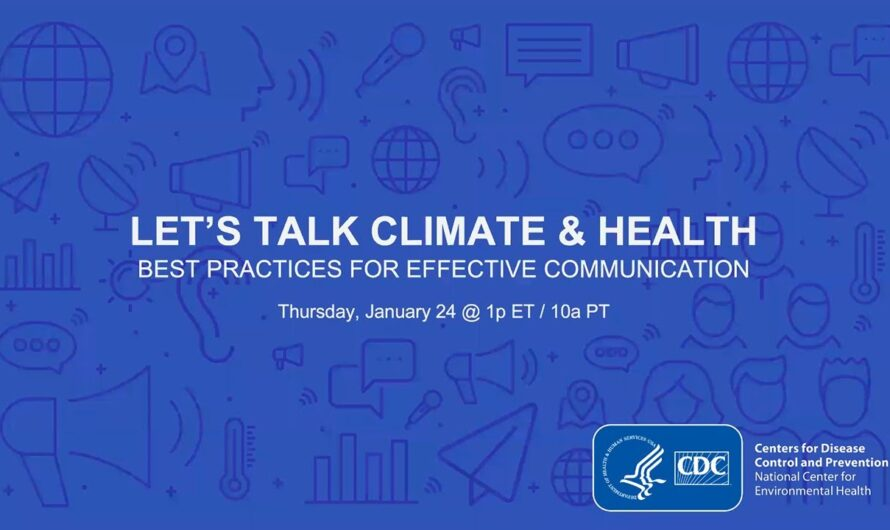 Best Practices for Effective Climate & Health Communication