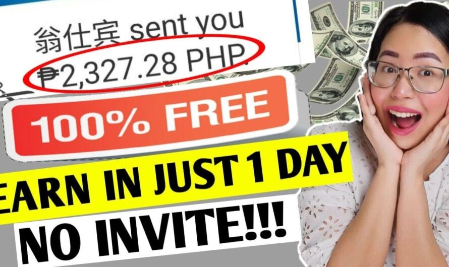 NO INVITE: EARN FREE upto P2,327 ($50) IN JUST ONE DAY?! EASY! FREE PAYPAL MONEY | FREE EARNING APP