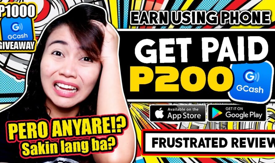 Earn P200 GCASH PERO ANYARE SAKIN!? | Frustrated App Review | JOIN P1000 GIVEAWAY!