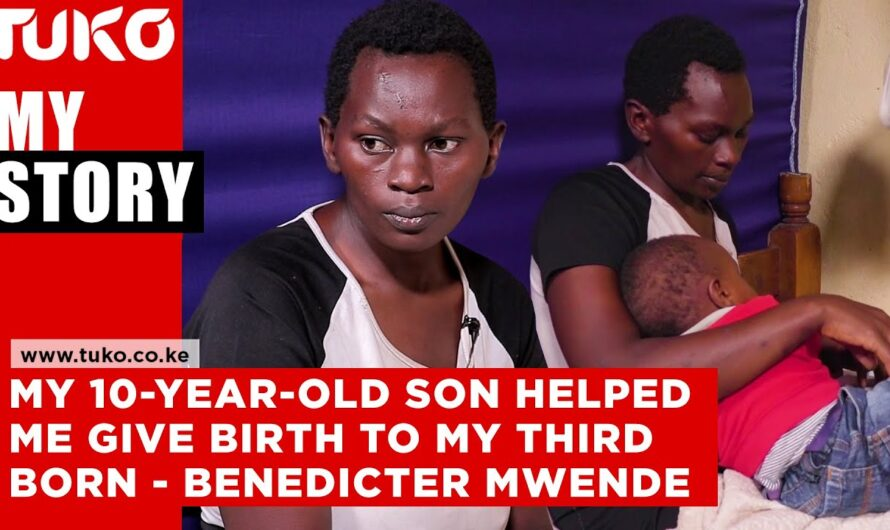He cut off the umbilical cord using a kitchen Knife – Benedicter Mwende | Tuko TV
