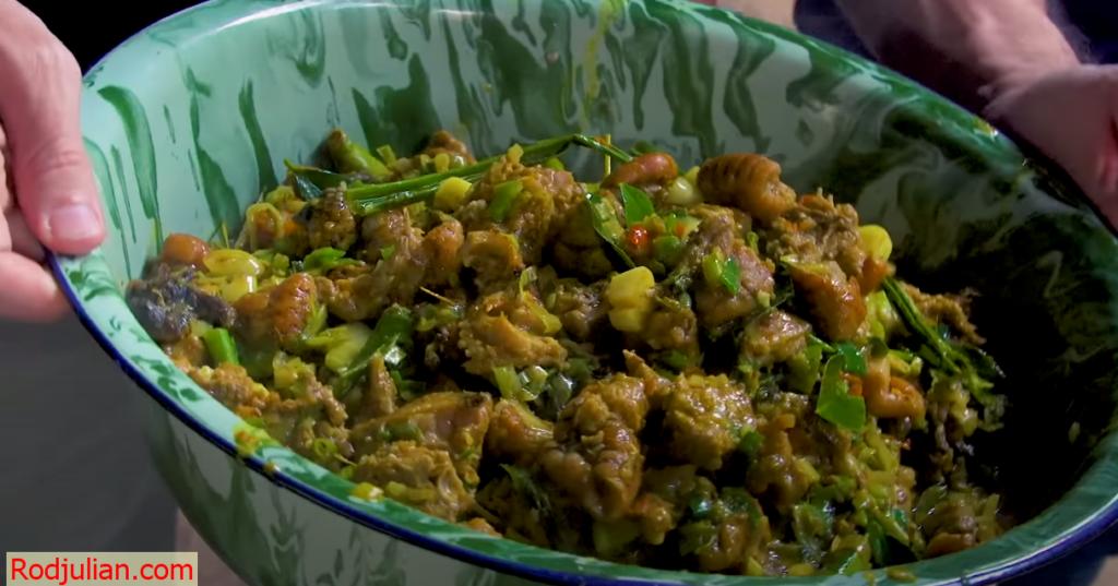 Strange food of the Indonesian! Rare food!