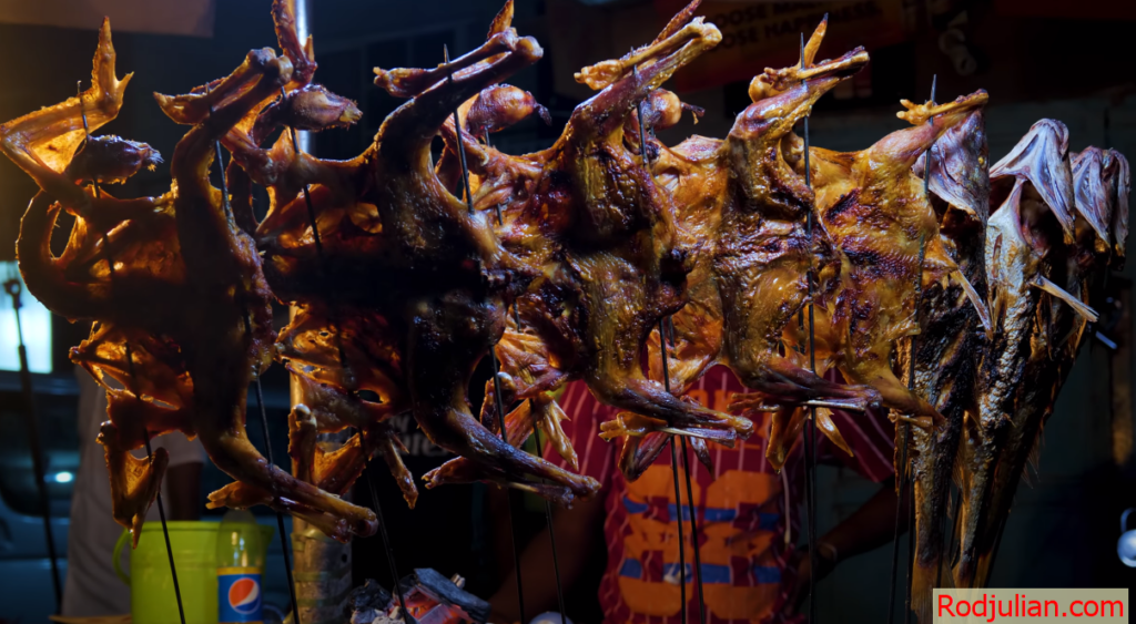 Night street food in Nigeria! Good food!