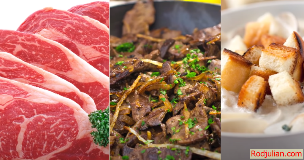 Foods with a lot of vitamin B12 are very good for health!
