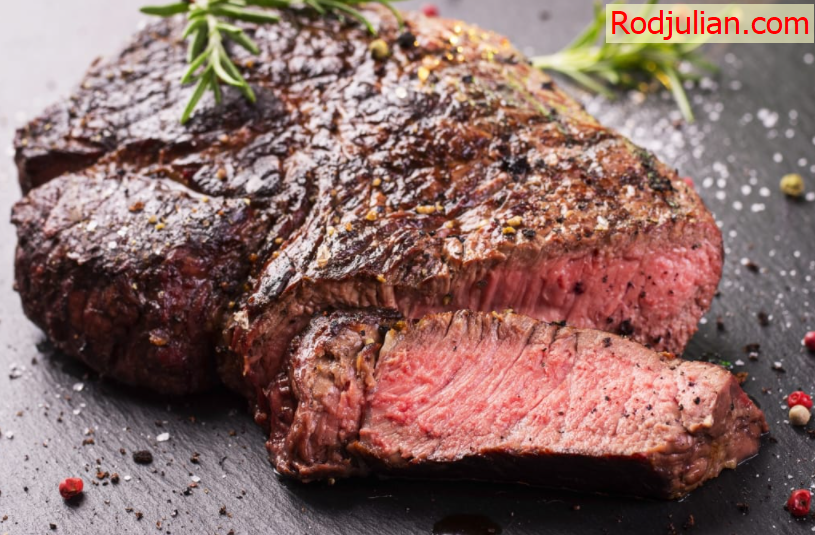 What happens to your body if you eat beef steak?